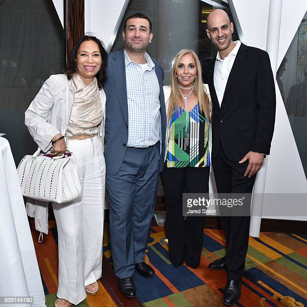 Janet League Katcin Oshri Reuben Ally Deane and Steven Nadar attend AVENUE Celebrates the New Edition of AVENUE CONCIERGE at Le Cirque on June 8 2016...