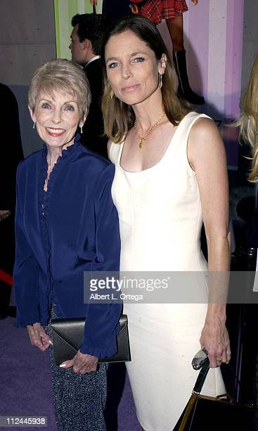 Janet Leigh and daughter Kelly Leigh during Premiere of Freaky Friday at El Capitan Theater in Hollywood California United States
