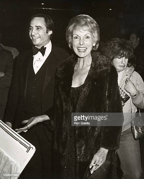 Janet Leigh and guest during The 7th Annual A Night of 100 Trees Gala at Tavern On The Green in New York City New York United States