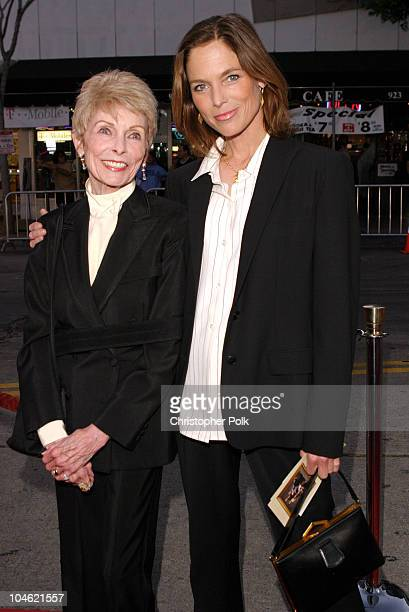 "Janet Leigh and Kelly Curtis during A Special Screening og MGM's ""It Runs In The Family Premiere"" - Arrivals at Mann Bruin Theatre in Westwood, CA,..."