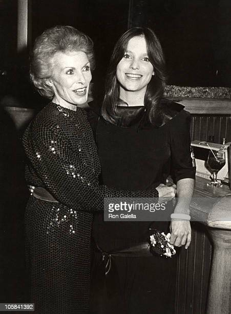 Janet Leigh and Kelly Curtis during There Really Was A Hollywood Book Party at The Limelight in New York City New York United States