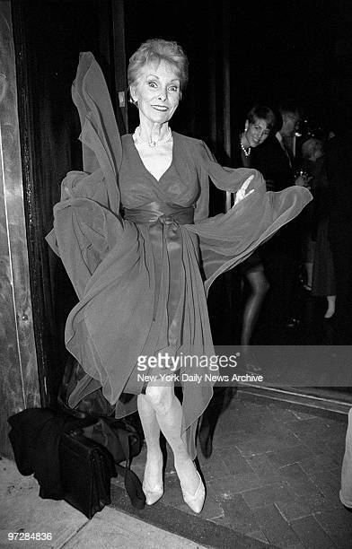 """Janet Leigh at Cascabel restaurant, where she hosted a party for her book, """"Psycho."""""""