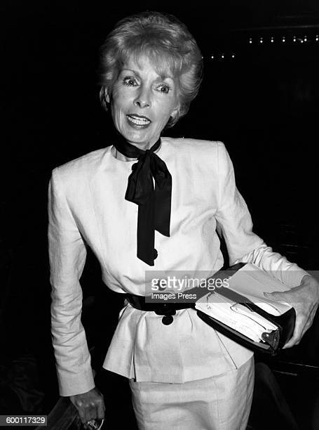 Janet Leigh circa 1983 in New York City