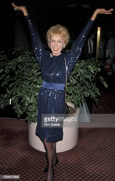 Janet Leigh during 11th Annual Womens Sports Foundation Awards at Marriott Marquis in New York City New York United States