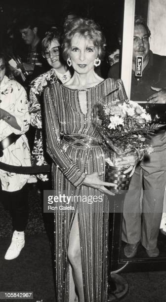 Janet Leigh during 3rd Annual American Cinema Awards May 30 1986 at Beverly Wilshire Hotel in Beverly Hills California United States