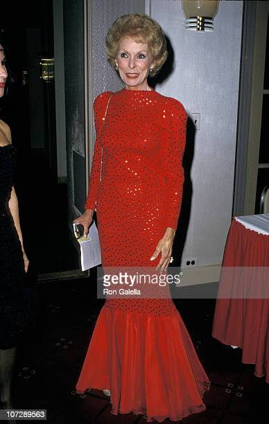 Janet Leigh during American Museum of the Moving Image Gala Tribute to James Stewart at Waldorf Astoria in New York City New York United States