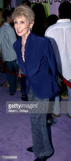 Janet Leigh during Premiere of Freaky Friday at El Capitan Theater in Hollywood California United States