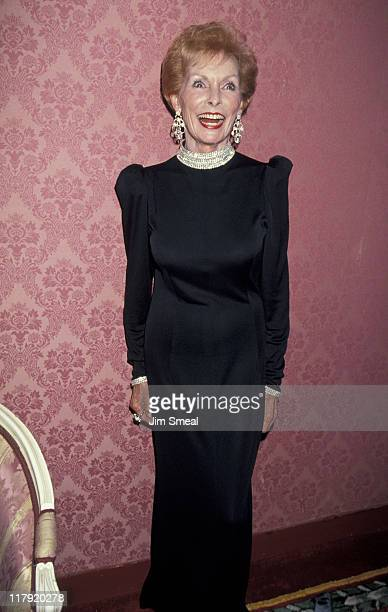 Janet Leigh during Salute To The Olympic Winter Games In Norway at The Plaza Hotel in New York City New York United States