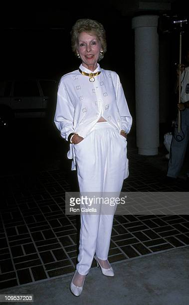Janet Leigh during Universal Studios Private Party at the Grand Cypress Resort - June 6, 1990 at Grand Cyprus Resort in Orlando, Florida, United...