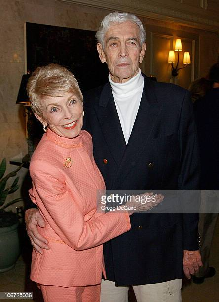 Janet Leigh Husband Robert Brandt during CedarsSinai Medical Center's Teen Line Honors Jamie Lee Curtis With Humanitarian Award At Food For Thought...