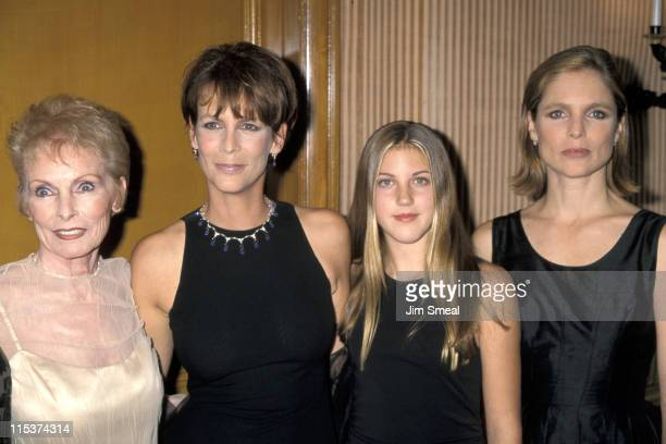 Janet Leigh, Jamie Lee Curtis, daughter Annie, and Kelly Curtis
