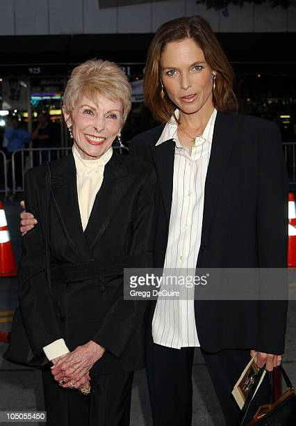 Janet Leigh Kelly Curtis during It Runs In The Family Premiere Arrivals at Mann Bruin Theatre in Westwood California United States
