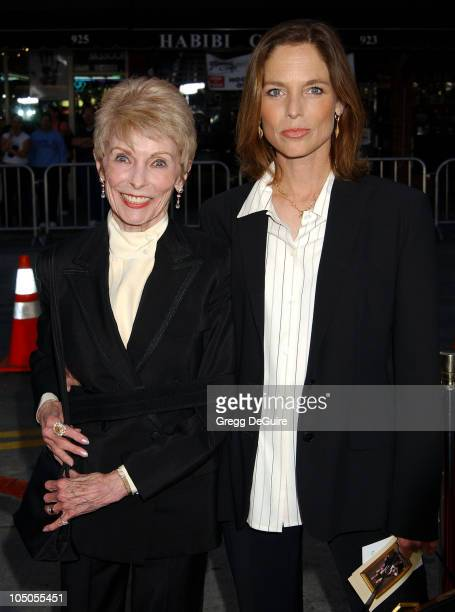 "Janet Leigh & Kelly Curtis during ""It Runs In The Family"" Premiere - Arrivals at Mann Bruin Theatre in Westwood, California, United States."