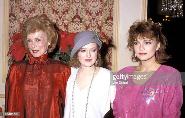 Janet Leigh Lori Hendler and Emma Samms during The 45th Annual Golden Apple Awards at Beverly Wilshire Hotel in Beverly Hills California United States