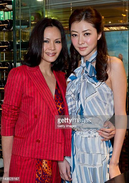 Janet Ma and Lynn Hung arrive at the Carrera Liberatum Gala Dinner during the Liberatum Hong Kong International Festival of Culture press conference...