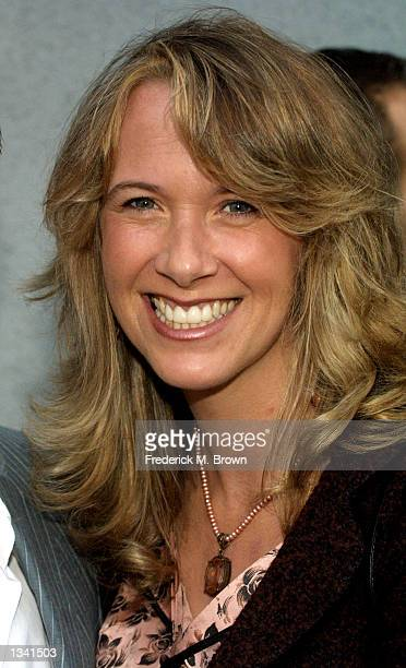 Janet McCormack wife of actor Eric McCormack attends the Project Angel Food's Angel Awards 2002 on August 17 2002 in Los Angeles California The...