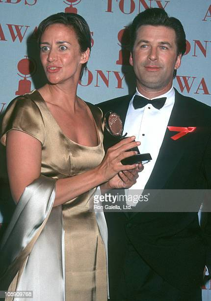 Janet McTeer and Alec Baldwin during 51st Annual Tony Awards at Radio City Music Hall in New York City New York United States