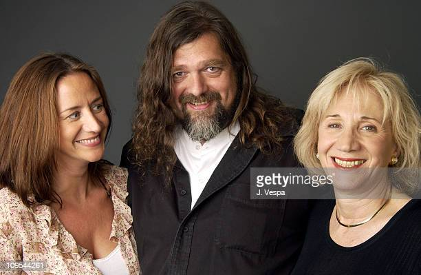 Janet McTeer director Kristian Levring and Olympia Dukakis