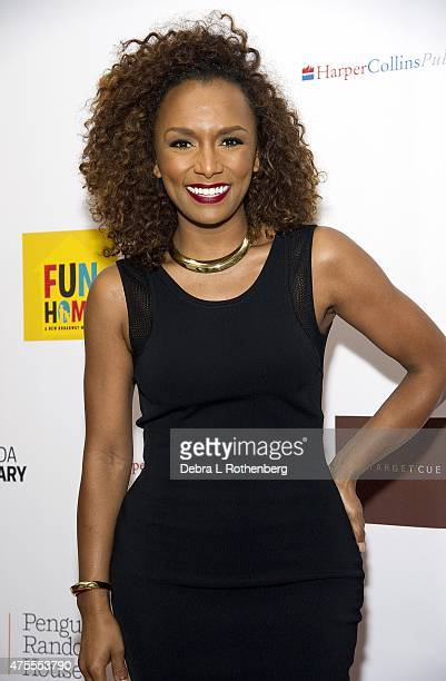 Janet Mock arrives at the 27th Annual Lambda Literary Awards at The Great Hall at Cooper Union on June 1 2015 in New York City