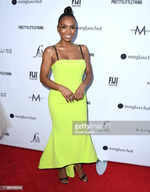 Janet Mock arrives at the The Daily Front Row's 5th Annual Fashion Los Angeles Awards at Beverly Hills Hotel on March 17 2019 in Beverly Hills...