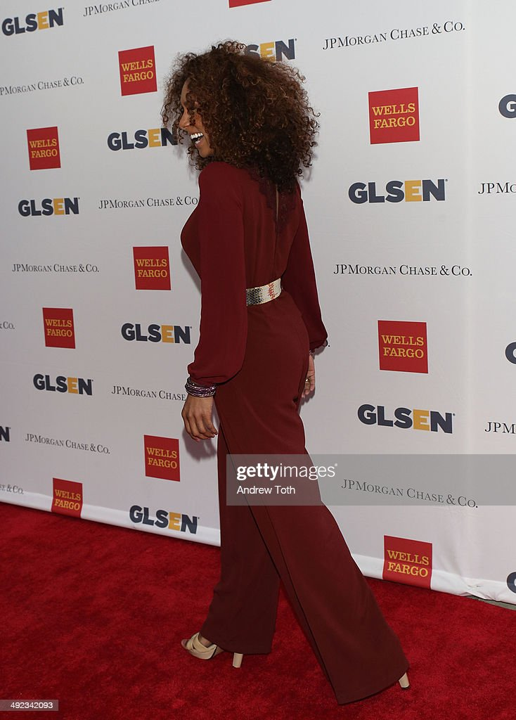 Janet Mock attends 11th Annual GLSEN Respect awards at Gotham Hall on May 19, 2014 in New York City.