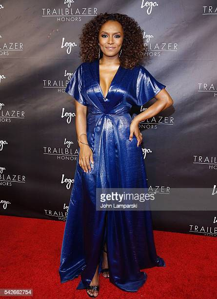 Janet Mock attends 2016 Trailblazer Honors at Cathedral of St John the Divine on June 23 2016 in New York City