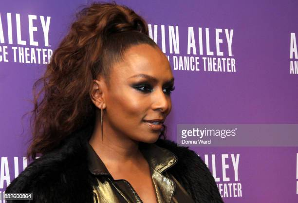 Janet Mock attends Alvin Ailey's 2017 Opening Night Gala at New York City Center on November 29 2017 in New York City