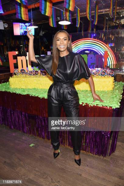 Janet Mock attends as Entertainment Weekly Celebrates Its Annual LGBTQ Issue at the Stonewall Inn on June 05 2019 in New York City