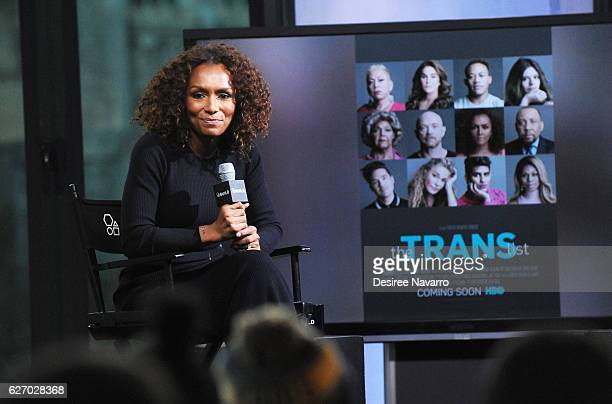 Janet Mock attends Build Presents 'The Trans List' at AOL HQ on December 1 2016 in New York City