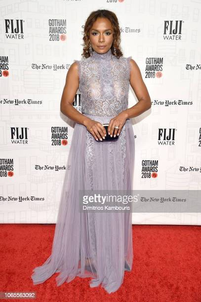 Janet Mock attends IFP's 28th Annual Gotham Independent Film Awards at Cipriani Wall Street on November 26 2018 in New York City