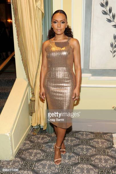 Janet Mock attends the 15th Annual Benefit Gala An Evening Unmasking Eating Disorders hosted by The National Eating Disorder Association at The...