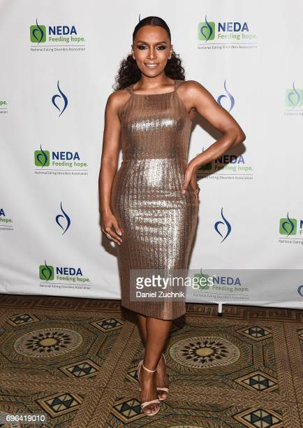 Janet Mock attends the 15th Annual Benefit Gala 'An Evening Unmasking Eating Disorders' hosted by The National Eating Disorder Association at The...