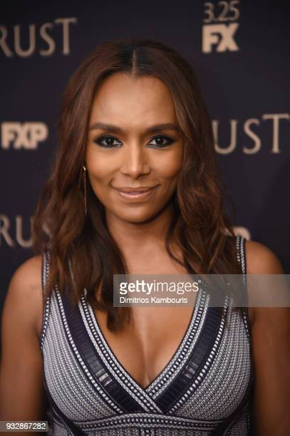 Janet Mock attends the 2018 FX Annual AllStar Party at SVA Theater on March 15 2018 in New York City