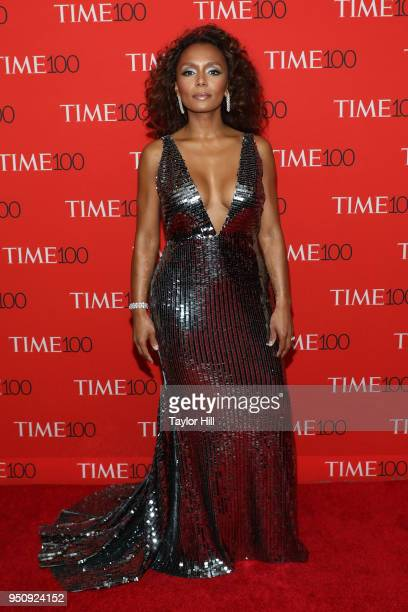 Janet Mock attends the 2018 Time 100 Gala at Frederick P Rose Hall Jazz at Lincoln Center on April 24 2018 in New York City