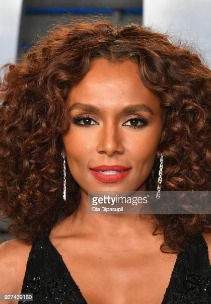 Janet Mock attends the 2018 Vanity Fair Oscar Party hosted by Radhika Jones at Wallis Annenberg Center for the Performing Arts on March 4 2018 in...