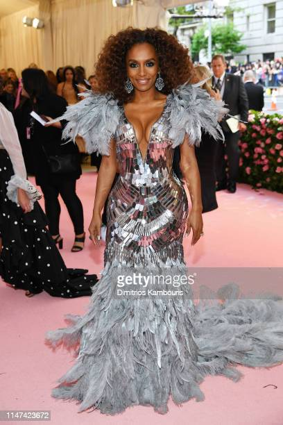 Janet Mock attends The 2019 Met Gala Celebrating Camp Notes on Fashion at Metropolitan Museum of Art on May 06 2019 in New York City