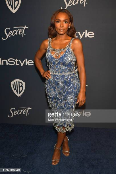 Janet Mock attends The 2020 InStyle And Warner Bros 77th Annual Golden Globe Awards PostParty at The Beverly Hilton Hotel on January 05 2020 in...