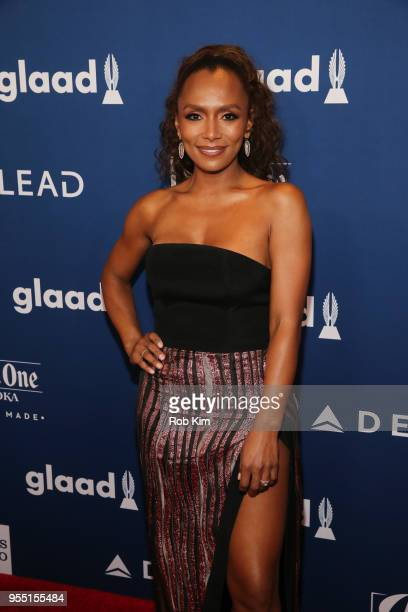 Janet Mock attends the 29th Annual GLAAD Media Awards at Mercury Ballroom at the New York Hilton on May 5 2018 in New York City