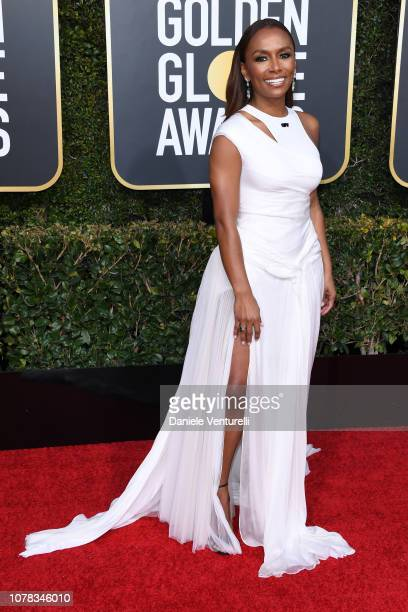 Janet Mock attends the 76th Annual Golden Globe Awards at The Beverly Hilton Hotel on January 6 2019 in Beverly Hills California