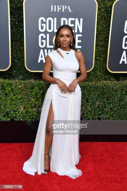 Janet Mock attends the 76th Annual Golden Globe Awards held at The Beverly Hilton Hotel on January 06 2019 in Beverly Hills California
