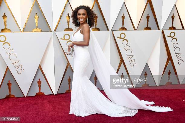 Janet Mock attends the 90th Annual Academy Awards at Hollywood Highland Center on March 4 2018 in Hollywood California