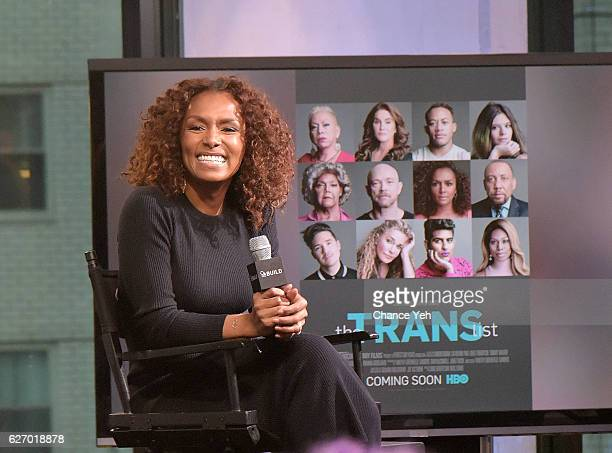 Janet Mock attends The Build Series to discuss The Trans List at AOL HQ on December 1 2016 in New York City