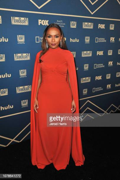 Janet Mock attends the FOX FX and Hulu 2019 Golden Globe Awards After Party at The Beverly Hilton Hotel on January 6 2019 in Beverly Hills California