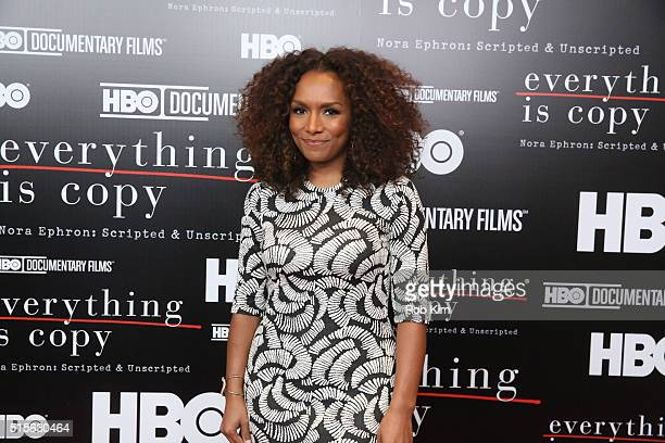 Janet Mock attends the New York Special Screening of 'Everything Is Copy Nora Ephron Scripted Unscripted' at The Museum of Modern Art on March 14...