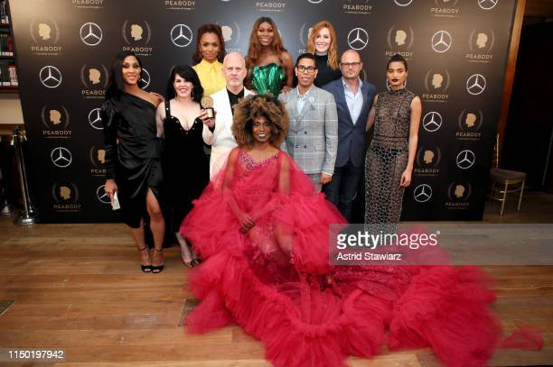 Janet Mock Dominique Jackson Our Lady J Mj Rodriguez Alexis Martin Woodall Ryan Murphy Steven Canals Brad Simpson Indya Moore and Billy Porter...