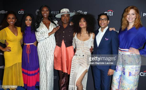 Janet Mock MJ Rodriguez Dominique Jackson Billy Porter Indya Moore Steven Canals and Our Lady J and attend the Paley Center For Media's 2019...