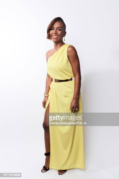 Janet Mock poses for a portrait at The BAFTA Tea Party on January 5 2019 in Beverly Hills California