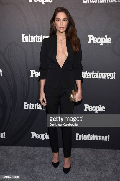 Janet Montgomery of New Amsterdam attends Entertainment Weekly PEOPLE New York Upfronts celebration at The Bowery Hotel on May 14 2018 in New York...