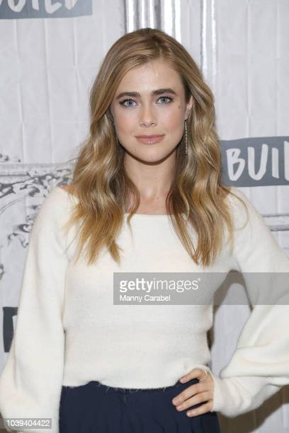 Janet Montgomery visits Build Series to discuss her role on the series ' New Amsterdam' at Build Studio on September 24 2018 in New York City