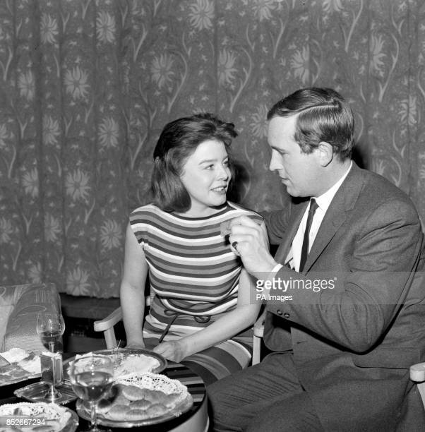 Janet Munro and Ian Hendry attend a prewedding party at Claridge's in Mayfair They are getting married tomorrow but the honeymoon will be brief as...